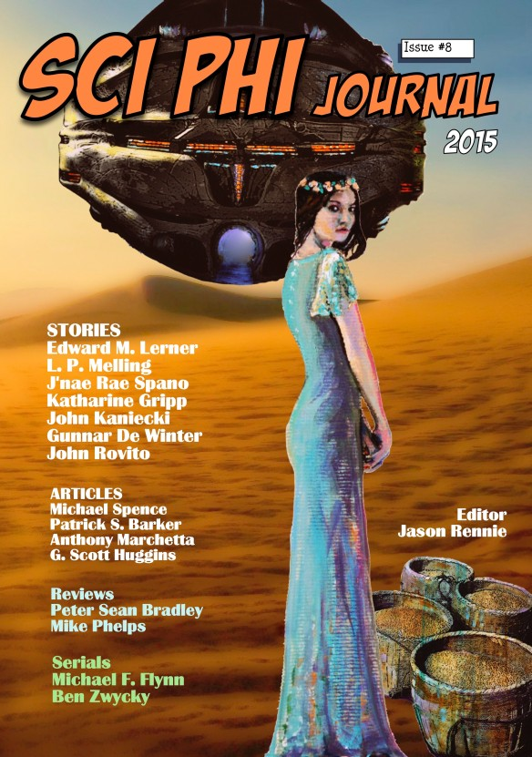 Chapters 14 and 15 of Beyond The Mist appear in Sci Phi Journal Issue 8