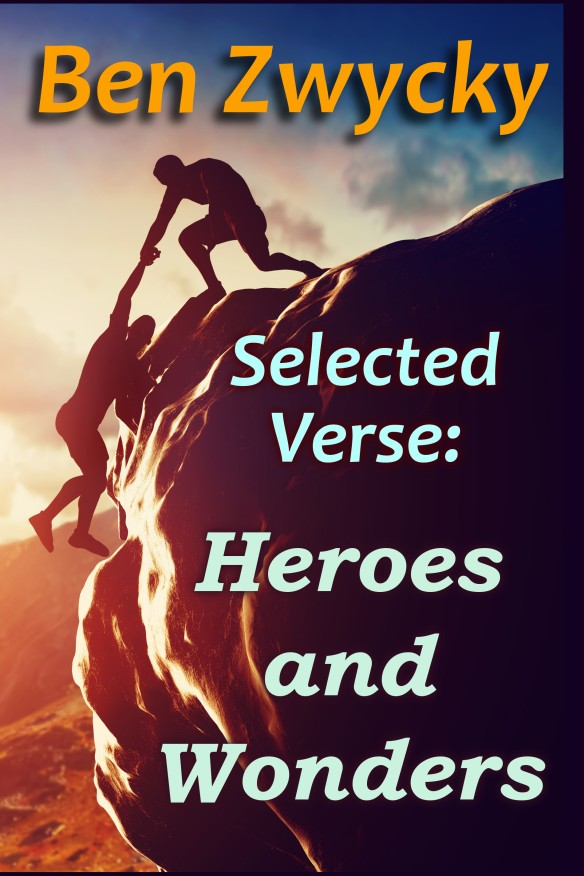 Selected Verse: Heroes and Wonders Cover Art concept