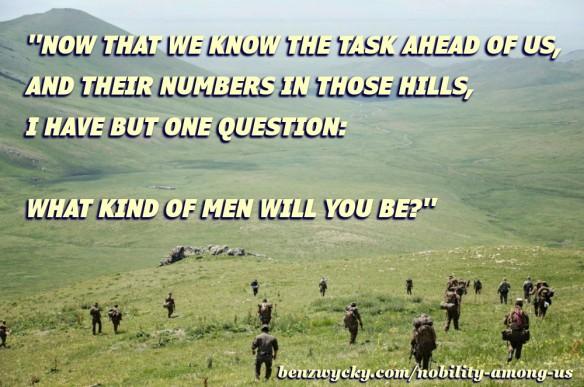 NAU soldiers in hills meme